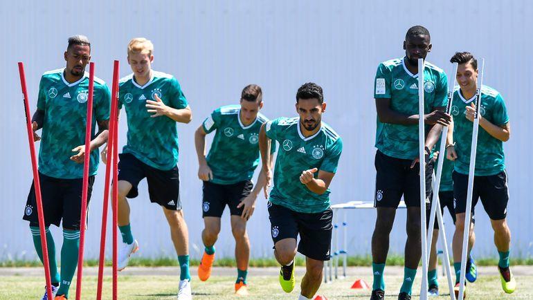 Среда. Сочи. Тренировка сборной Германии. Фото AFP