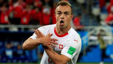 Пятница. Калининград. Сербия – Швейцария – 1:2. 90-я минута. Джердан ШАЧИРИ.