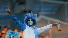 21 июня. Нижний Новгород. Аргентина - Хорватия - 0:3. Болельщик южноамериканской сборной.