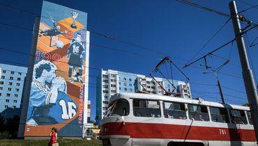 Граффити дня. Блан целует Бартеза в Самаре