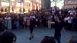Лезгинка на Лубянской площади!