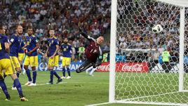Суббота. Сочи. Германия - Швеция - 2:1. 90+5-я минута. Гол Тони Крооса (за кадром).
