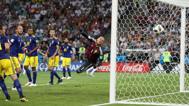 Германия - Швеция - 2:1. Чемпионат мира, 23 июня 2018, обзор матча