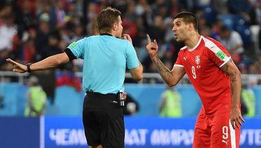 Сербия подала апелляцию в ФИФА на судейство Бриха