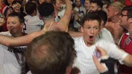 Английские фанаты в России