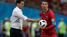 15 июня. Сочи. Португалия - Испания - 3:3. Фернандо ЙЕРРО и Криштиану РОНАЛДУ.