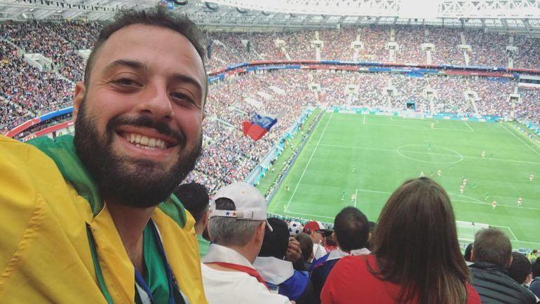 Томер САВОЙА на матче открытия ЧМ-2018 Россия - Саудовская Аравия. Фото instagram.com/tomersavoia/