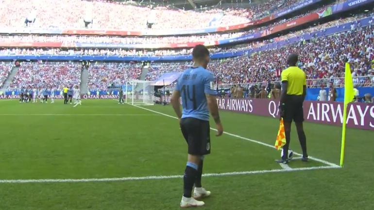 Уругвай - Россия: второй гол.