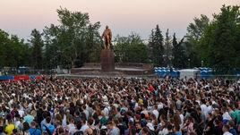 Июнь. Саранск. Фан-зона чемпионата мира-2018.