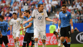 Понедельник. Самара. Уругвай - Россия - 3:0. Эмоции Артема ДЗЮБЫ.