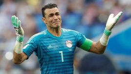Сегодня. Волгоград. Саудовская Аравия - Египет - 2:1. Эссам ЭЛЬ-ХАДАРИ установил рекорд чемпионатов мира.
