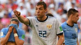 Сегодня. Самара. Уругвай - Россия - 3:0. Артем ДЗЮБА.