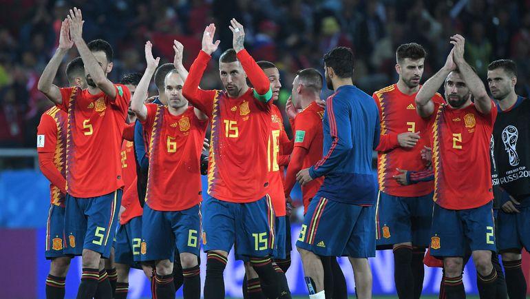 Понедельник. Калининград. Испания - Марокко - 2:2. Чемпионы мира-2010 - соперник России в первом раунде плей-офф домашнего ЧМ-2018. Фото AFP