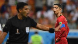 Понедельник. Саранск. Иран - Португалия - 1:1. КРИШТИАНУ РОАНЛДУ избежал красной карточки.