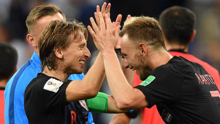 "Разгромная победа над Аргентиной гарантировала Хорватии место в плей-офф. Фото Александр ФЕДОРОВ, ""СЭ"""