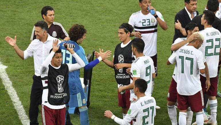 Сборная Мексики выйдет в плей-офф, если не проиграет Швеции. Фото AFP