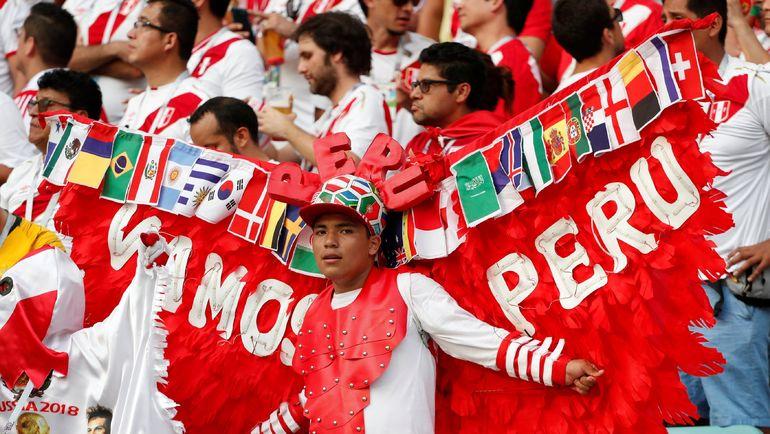 Болельщик сборной Перу. Фото Reuters