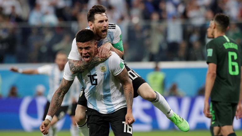 ЧМ-2018: Дания и Франция сыграли вничью, Австралия проиграла Перу, Аргентина обыграла Нигерию, Хорватия победила Исландию (Видео)