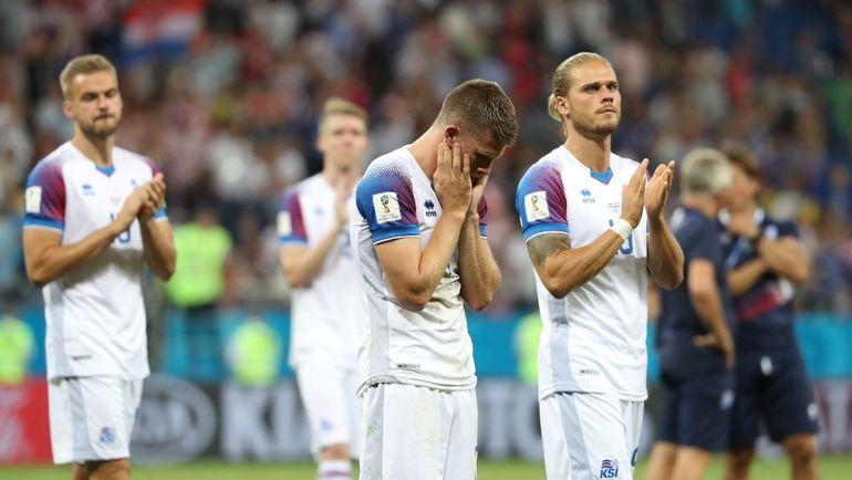 Вторник. Ростов-на-Дону. Исландия - Хорватия - 1:2. Северяне не смогли добиться победы и остались вне плей-офф. Фото Reuters