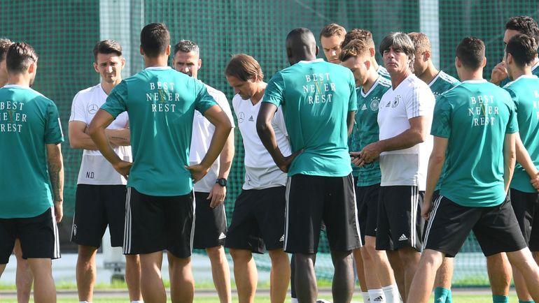 Понедельник. Ватутинки. Тренировка сборной Германии. Фото AFP