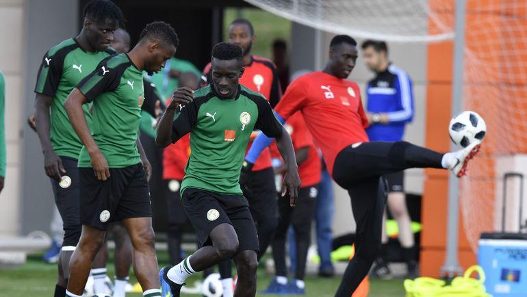 Сборная Сенегала выйдет в плей-офф, если не проиграет Колумбии. Фото AFP