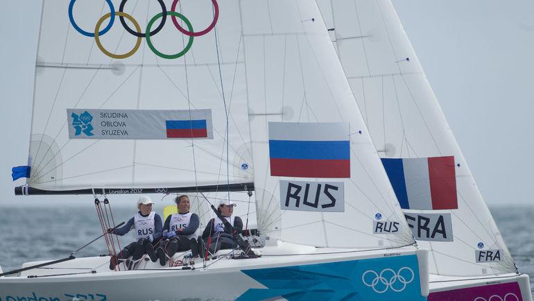 Екатерина СКУДИНА на Олимпиаде в Лондоне.