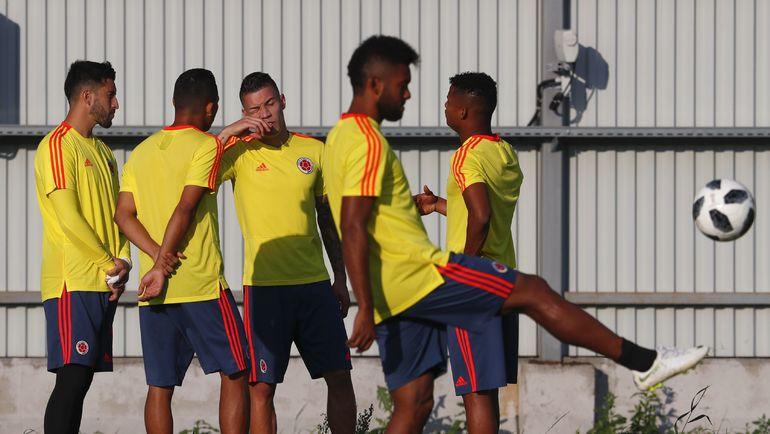 Сборная Колумбии выйдет в плей-офф, если обыграет Сенегал. Фото AFP