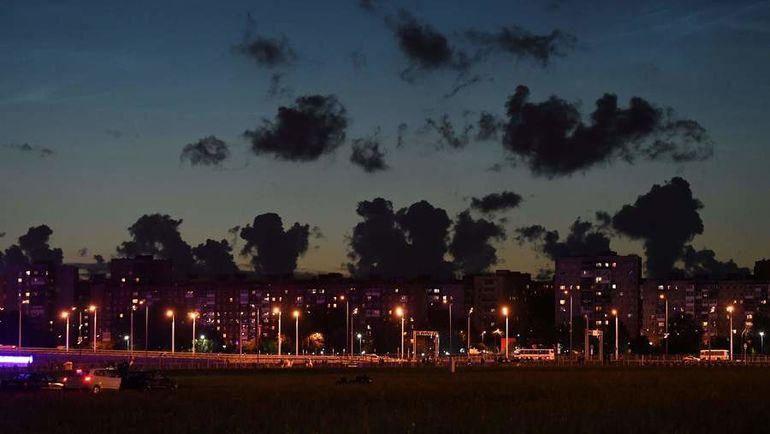 Ночь в Калининграде. Фото AFP