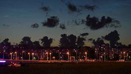 Ночь в Калининграде.