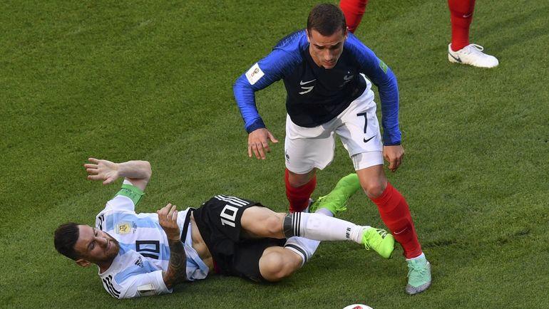 ЧМ-2018 1/8 финала: Франция победила Аргентину, Уругвай победил Португалию (Видео)
