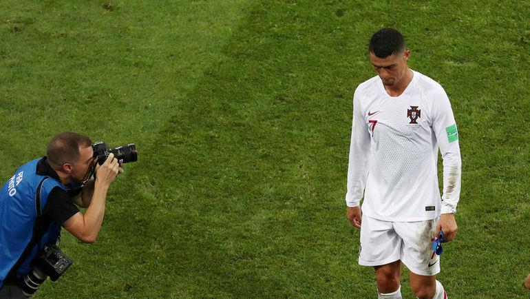 Суббота. Сочи. Уругвай - Португалия - 2:1. КРИШТИАНУ РОНАЛДУ. Фото REUTERS