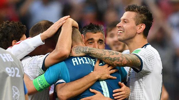 Испания - Россия - 1:1, пенальти - 3:4. Чемпионат мира, 1 июля 2018, обзор матча