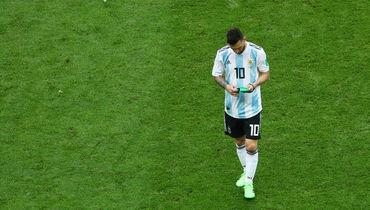Месси в плей-офф чемпионатов мира: 756 минут, ноль голов