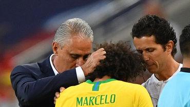 Бразилия - Мексика: Марселу не вошел в стартовый состав бразильцев