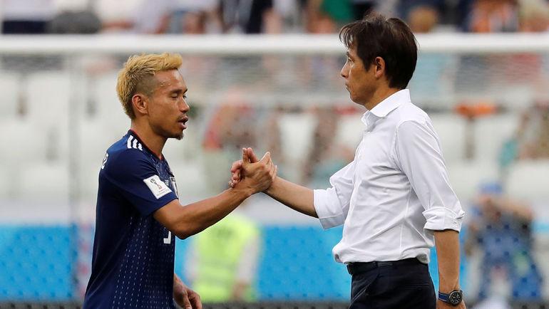 Юто НОГАМОТО и Акиро НИСИНО. Фото Reuters