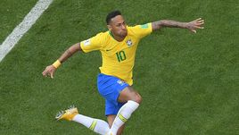 Понедельник. Самара. Бразилия - Мексика - 2:0. НЕЙМАР: гол плюс пас.