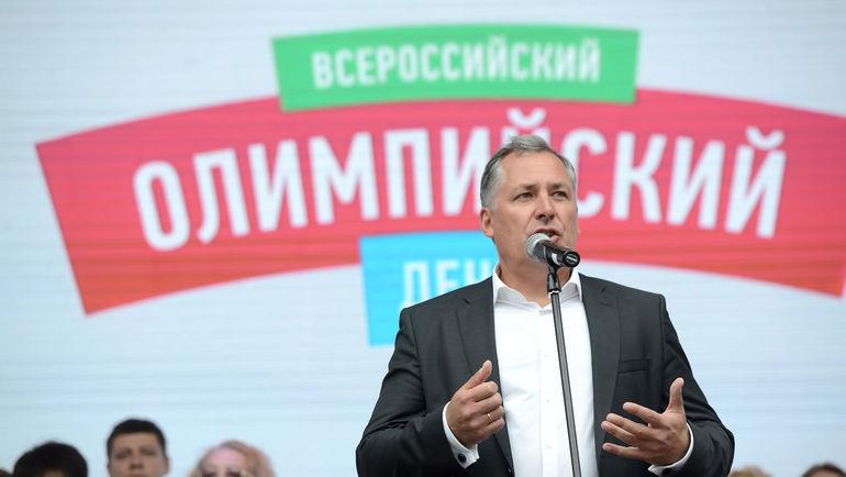 Президент ОКР Станислав ПОЗДНЯКОВ. Фото Наталья ПАХАЛЕНКО