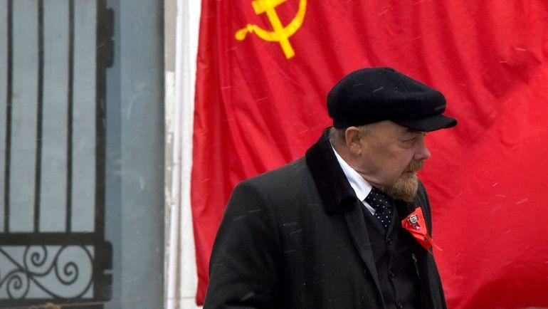 Один из двойников Владимира Ленина. Фото AFP
