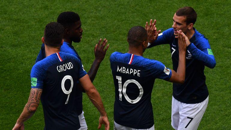 Сборная Франции. Фото AFP