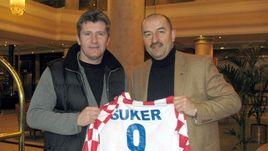 2007 год. Давор ШУКЕР и Станислав ЧЕРЧЕСОВ.