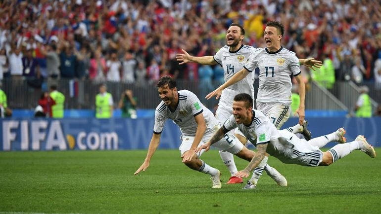 Команда-сенсация-2018 пишет историю. Фото Reuters