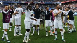 Пятница. Нижний Новгород. Уругвай - Франция - 0:2. Сборная Франции - в полуфинале ЧМ-2018.