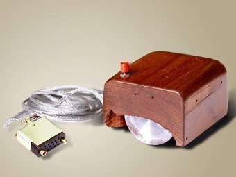 Изобретение компьютерной мыши.