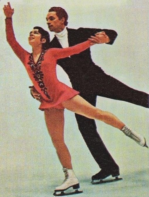 Ирина Роднина и Алексей Уланов.