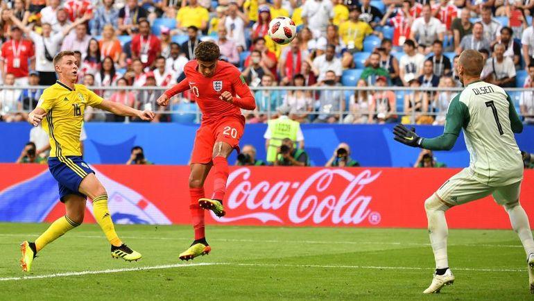 Суббота. Самара. Швеция - Англия - 0:2. 59-я минута. Деле АЛЛИ забивает гол. Фото REUTERS