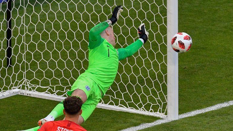 Суббота. Самара. Швеция - Англия - 0:2. В игре Джордан ПИКФОРД. Фото AFP