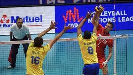 Суббота. Лилль. Россия - Бразилия - 3:0. Еще одна уверенная победа российских волейболистов.