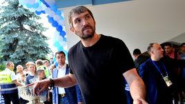 Александр Овечкин привез Кубок Стэнли домой