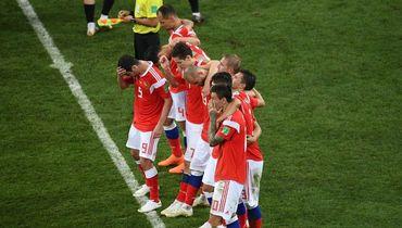 Суббота. Сочи. Россия – Хорватия – 2:2, пенальти – 3:4. Сборная перед серией пенальти.