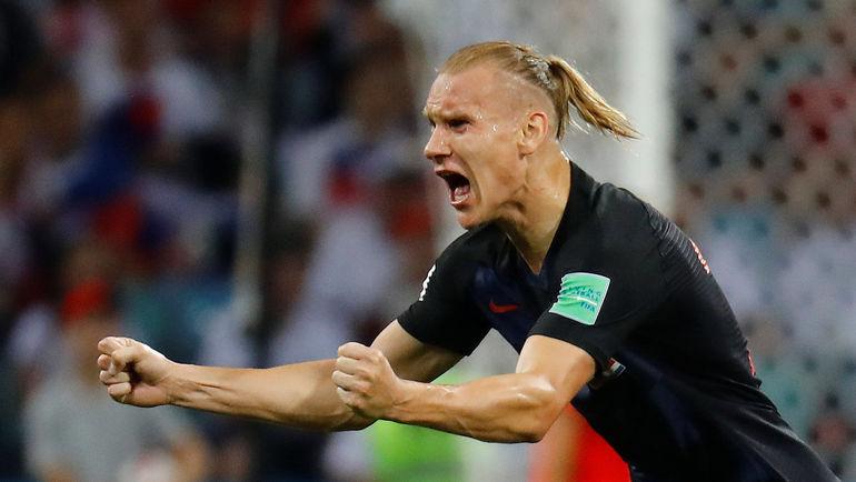 Суббота. Сочи. Россия - Хорватия - 2:2, пенальти - 3:4. Домагой ВИДА. Фото REUTERS